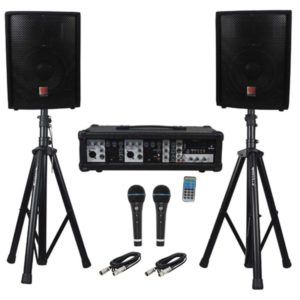 Audio equipment rental